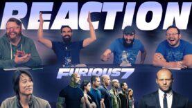 Furious 7 Movie Reaction