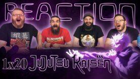 Jujutsu Kaisen 1×20 Reaction