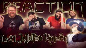 Jujutsu Kaisen 1×21 Reaction