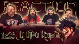 Jujutsu Kaisen 1×23 Reaction