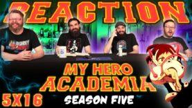 My Hero Academia 5×16 Reaction