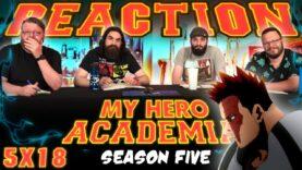 My Hero Academia 5×18 Reaction