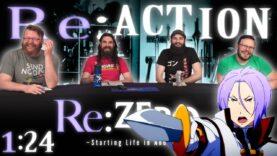 Re:Zero 1×24 Reaction