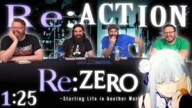 Re:Zero 1×25 Reaction
