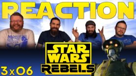 Star Wars Rebels Reaction 3×6