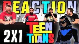 Teen Titans 1×14 Reaction