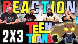 Teen Titans 2×3 Reaction