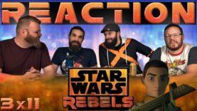 Star Wars Rebels Reaction 3×11