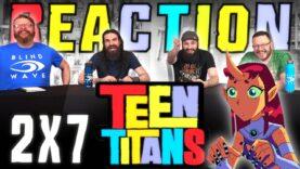 Teen Titans 2×7 Reaction