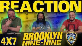 Brooklyn Nine-Nine 4×7 Reaction