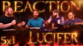 Lucifer 5×1 Reaction