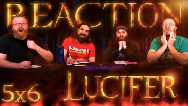 Lucifer 5×6 Reaction